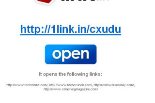 1link.in Multiple Links into one link