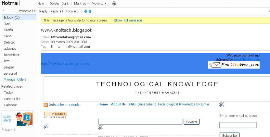 emailtheweb-inbox