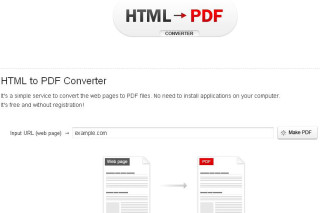 html pdf converter convert your web page into PDF