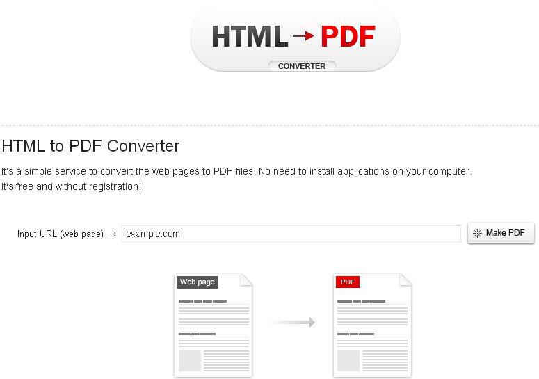 html-pdf-converter