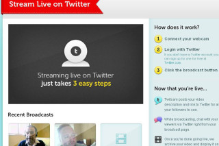 TwitCam live video streaming with your Twitter followers