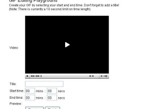 Gifsoup convert youtube videos into animated gif