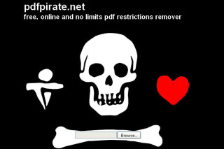 PDFPirate remove restrictions form PDF files