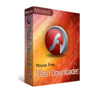 Moyea Free Flash Downloader download SWF files from a webpage