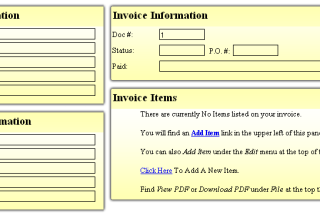 Create your PDF bills online via billpdf