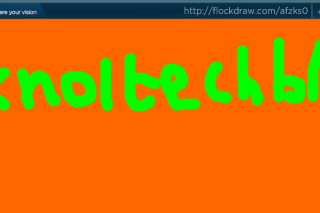Flockdraw invite others to draw sketches online
