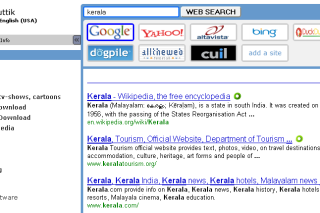 Sputtik search topic in different search engines via few mouse clicks