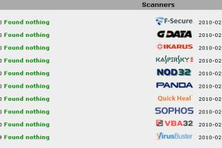Scan  your suspicious files in  20 antivirus softwares