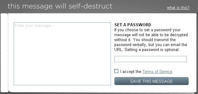 thismessagewillselfdestruct