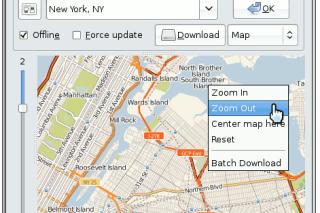 Gmapcatcher view maps offline mode