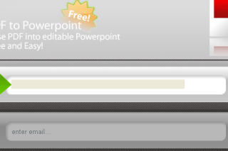 Convert PDF files into PowerPoint via convertpdftopowerpoint