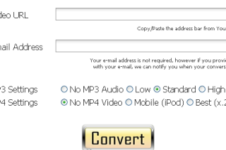 Makeitmp3 convert online videos into MP3 or MP4