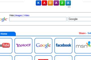 Create starter page via  kadaza
