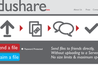 Share your files simple via dushare