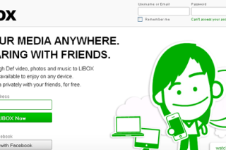 Access media files anywhere and share with others via LIBOX