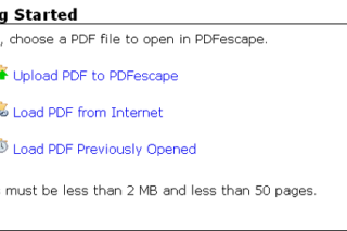 Open PDF files online without installing any software