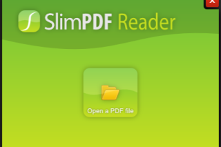 Slimpdfreader smallest PDF reader