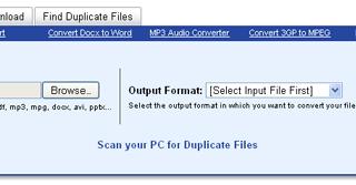 Convert files into different formats via freefileconvert