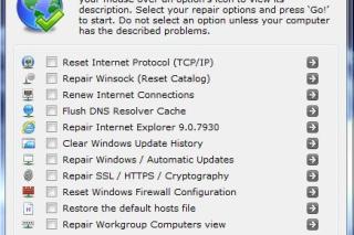 Repair internet related problems via Complete Internet Repair