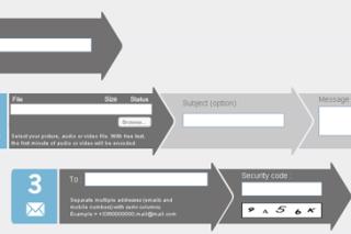 Share multimedia files quickly via wizdrop