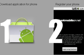 Access your mobile phone in web browser via LookMobileOn
