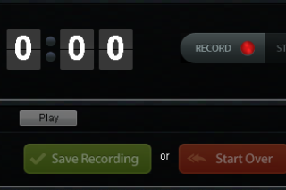 Record audio online via Recordmp3