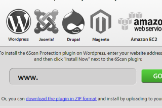 Protect your website from hacker via 6scan
