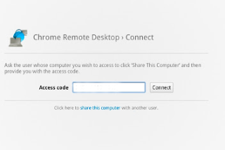 Remotely access other computers via Chrome Remote Desktop BETA