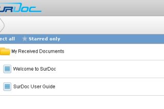 Surdoc backup and synchronize your documents online
