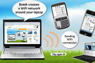 Bzeek make your laptop into wifi hotspot