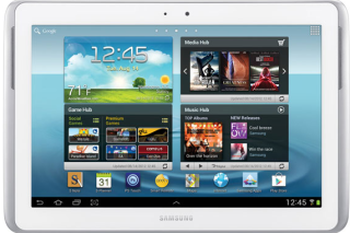 Samsung's new galaxy note 10.1