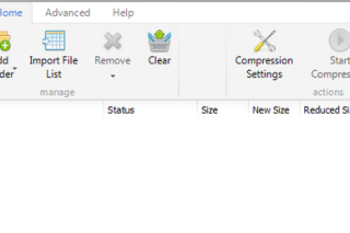 Reduce PDF files size via pdfcompressor