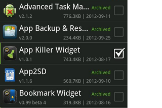 Backup and restore favorite Android apps on your SD card