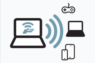 Connectify transform your PC into a real Wi-Fi hotspot and share internet to others