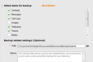Control and manage mobile phone from PC via Moborobo