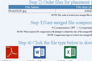 Merge multiple files into consolidated files and convert into different format