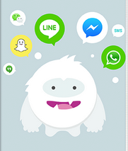Snowball accesses favorite social apps in one place
