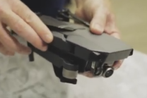 DJI Mavic Pro small foldable camera drone