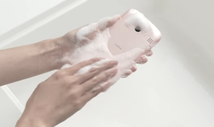 Washable Smartphone