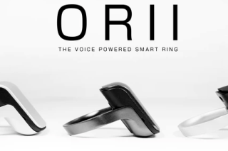 ORII voice powered smart ring