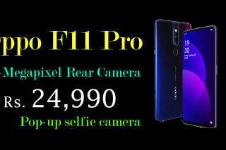 Oppo F11 Pro Launched  with 48-Megapixel Rear Camera