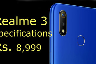 Realme 3 has been launched  just Rs. 8,990